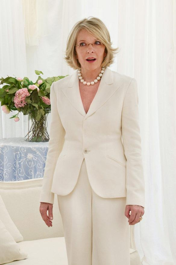 Diane Keaton in una scena di Big Wedding