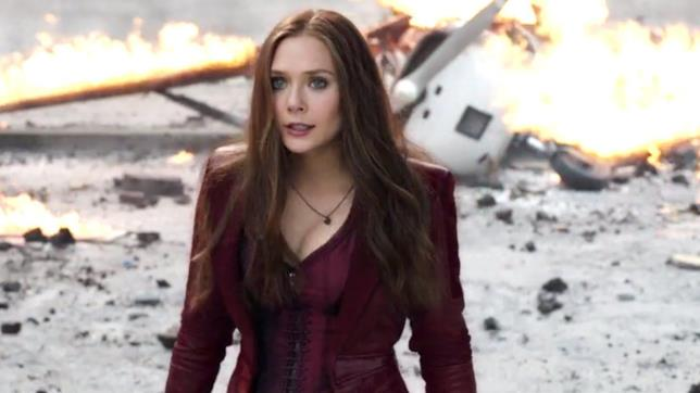 Elizabeth Olsen è Scarlet Witch