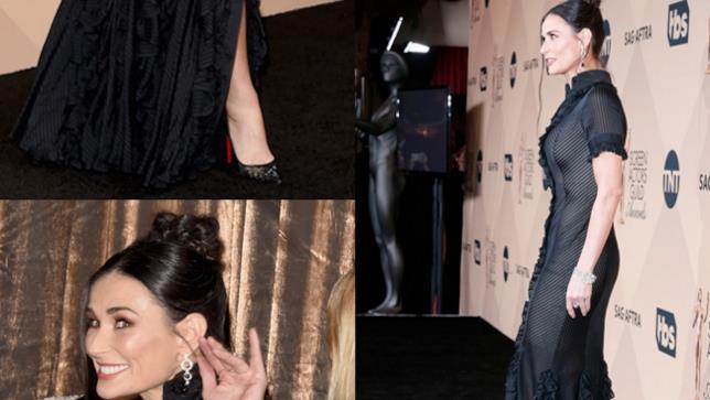 Demi Moore ai premi SAG Awards 2016