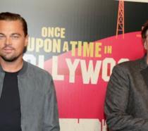 Leonardo DiCaprio assieme a Quentin Tarantino
