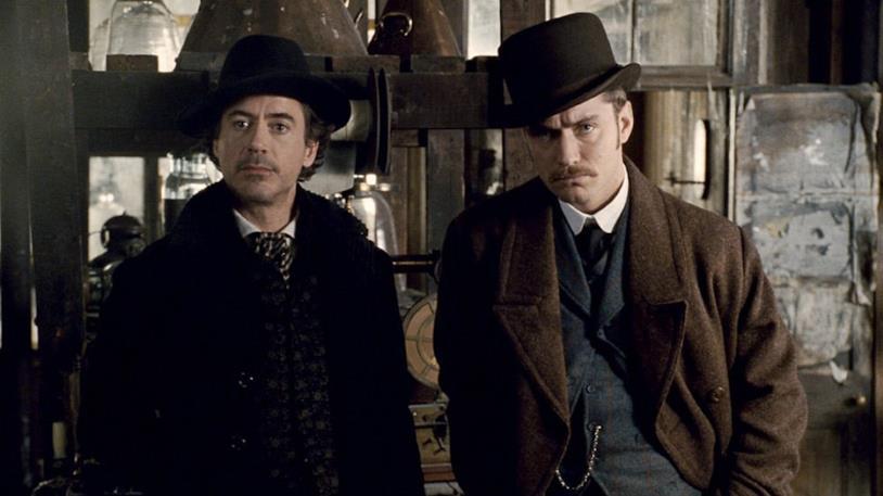 Robert Downey Jr. e Lude Law