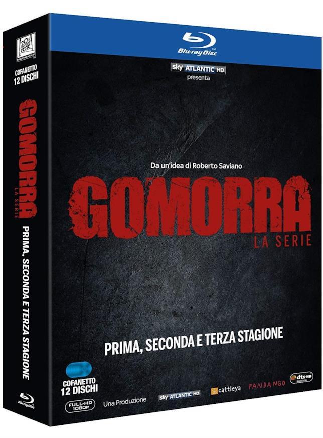 Blu-ray, le tre stagioni di Gomorra - La serie