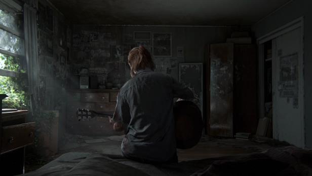Ellie suona la chitarra in The Last of Us Part II