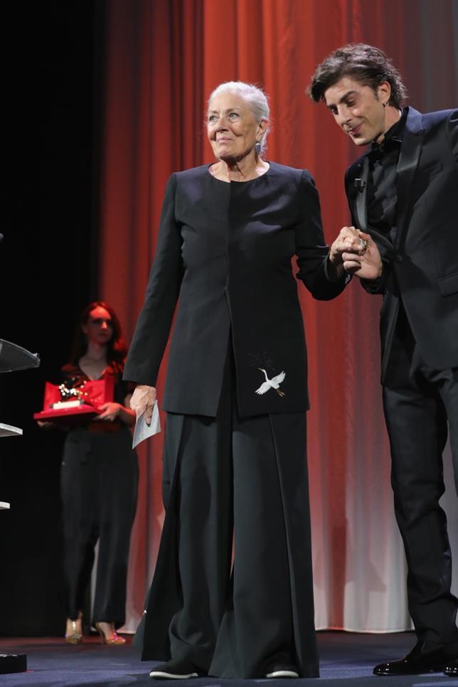 Vanessa Redgrave a Venezia 75