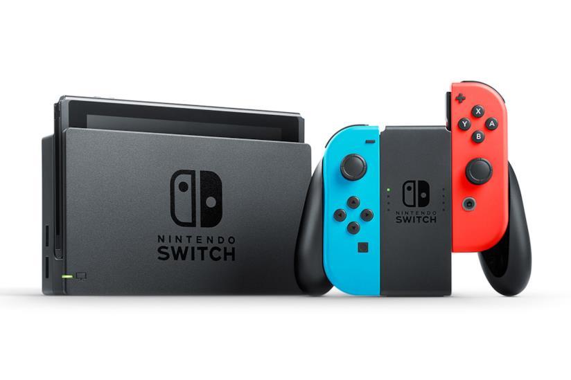 Dock e controller colorato di Nintendo Switch