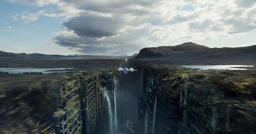 Scena dal film Oblivion