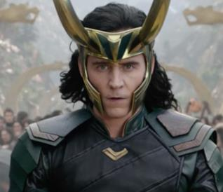 Loki in una immagine di Thor: Love and Thunder