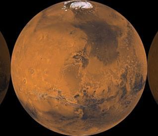 Una foto di Marte