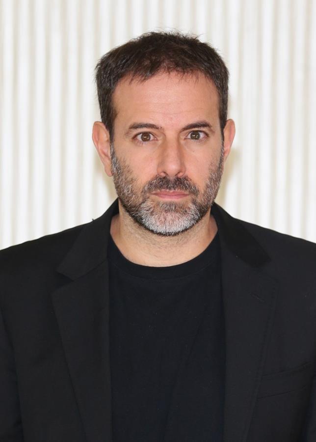 Fausto Brizzi in primo piano