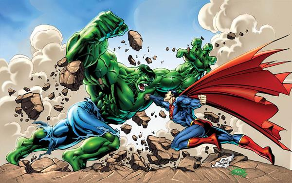 Hulk vs Superman: chi vincerebbe?