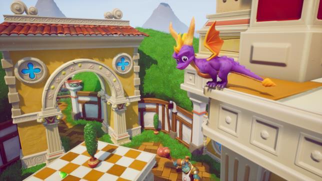 Spyro in azione in Reignited Trilogy
