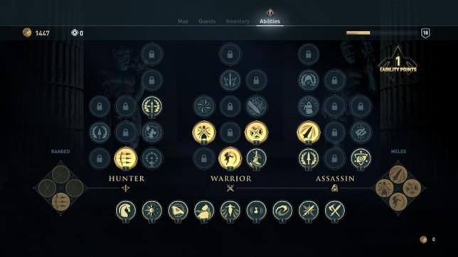 Le migliori abilità di Assassin's Creed Odyssey