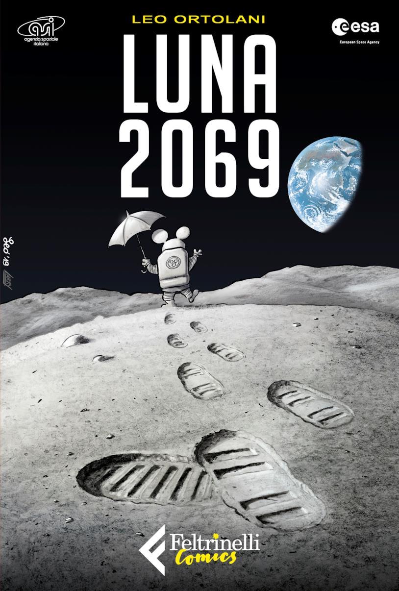 La copertina di Luna 2069 di Leo Ortolani
