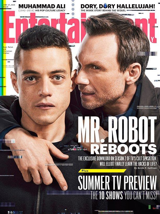 Mr Robot e Elliot presentano la seconda stagione di Mr Robot