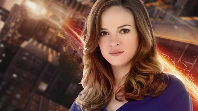 Caitlin in una scena di The Flash