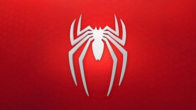 Il logo ufficiale di Spider-Man per PS4