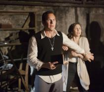 Scena del film The Conjuring
