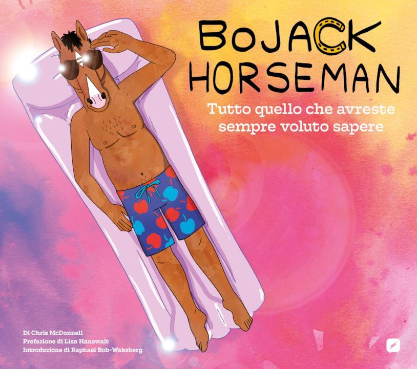 La copertina del libro dedicato alla serie tv BoJack Horseman