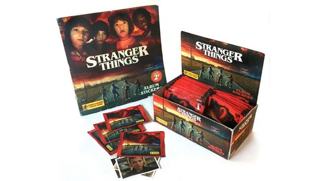 L'album Panini di Stranger Things creato dai fan