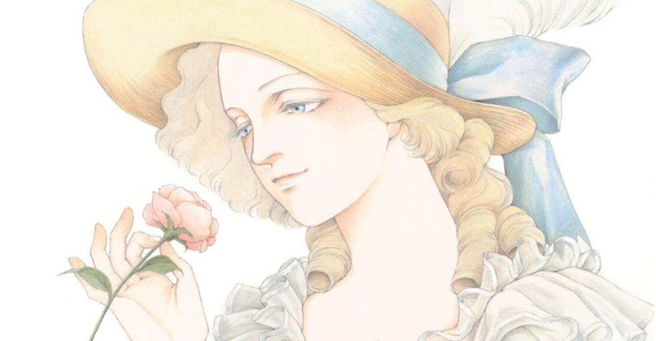 Primo piano di un'adulta Maria Antonietta