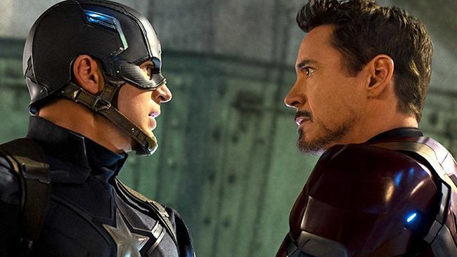 Capitan America e Iron Man in Civil War