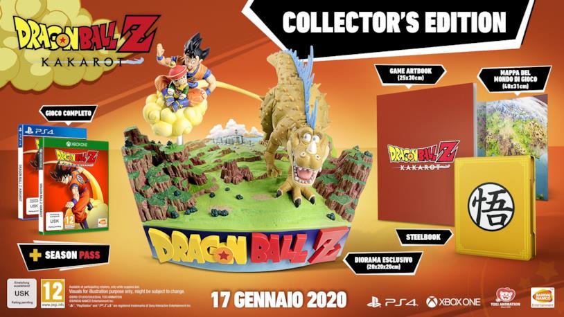 Tutti i contenuti di Dragon Ball Z Kakarot - Collector's Edition