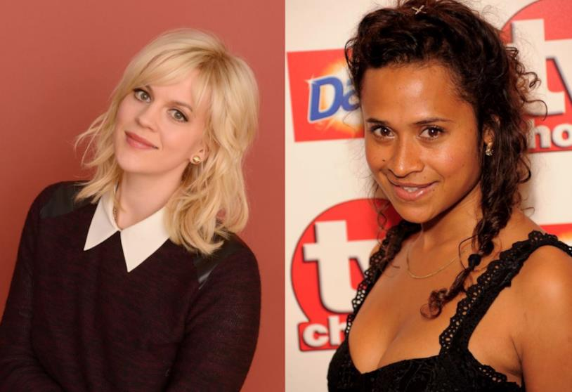Collage tra Georgia King e Angel Coulby
