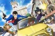 Lupin con i compagni Jigen e Goemon