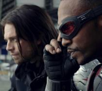 Anthony Mackie e Sebastian Stan nel MCU