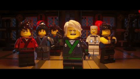 I membri della Ninja Force di LEGO Ninjago - Il Film