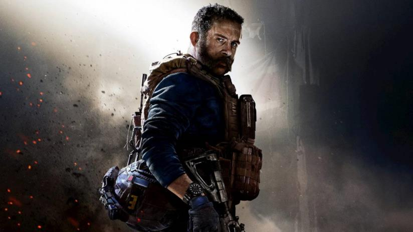 La copertina di Call of Duty Modern Warfare del 2019