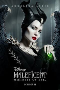 Il character poster di Maleficent con Malefica