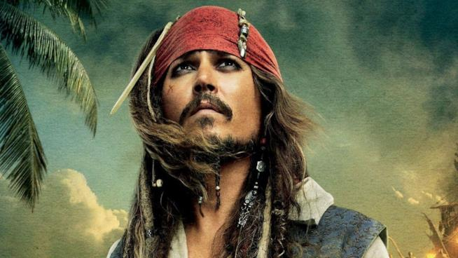 L'iconico capitano Jack Sparrow