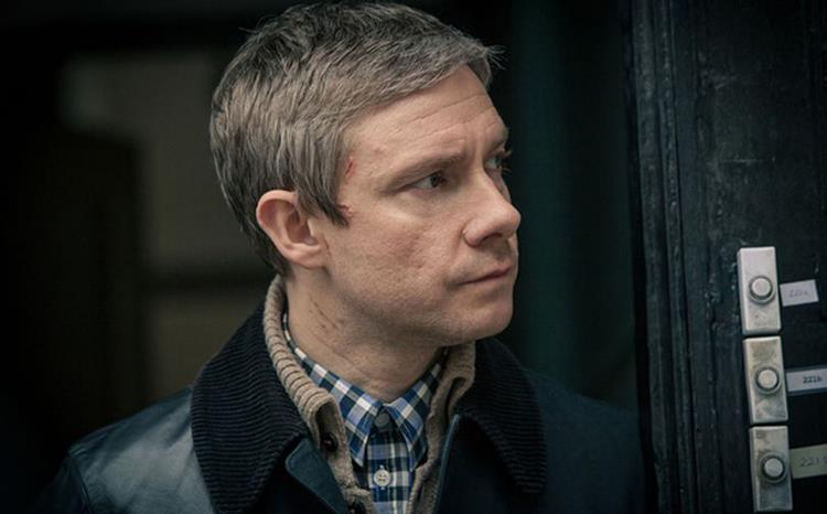 Martin Freeman in Sherlock