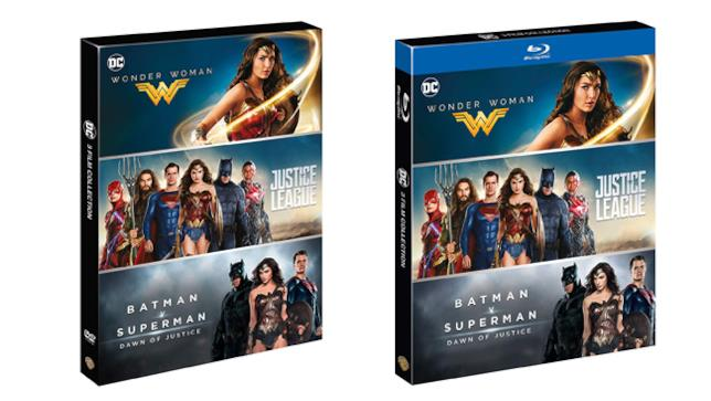 DC Comics Boxset - Home Video - DVD e Blu-ray