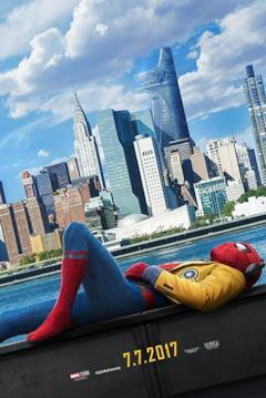 Spider-Man sulle rive del fiume