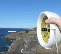 Dispositivo Waterlily in funzione con il vento