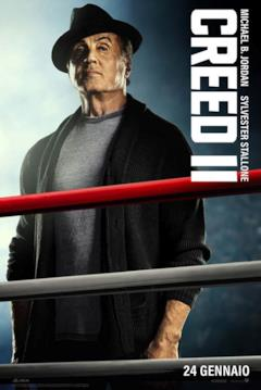 Poster di Creed II con Stallone