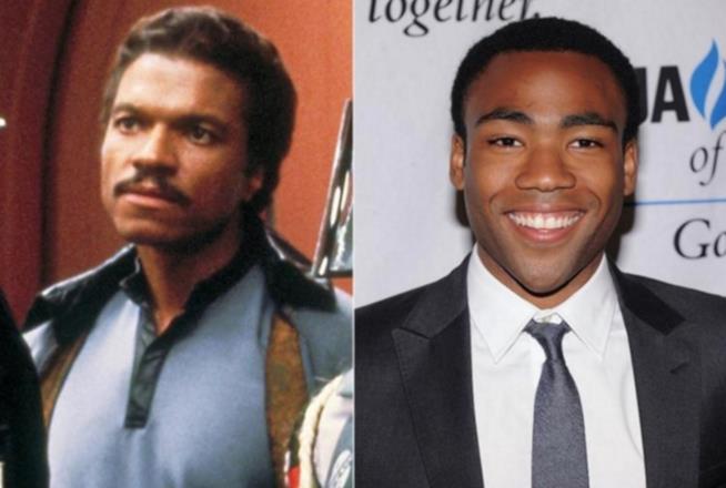 Lando Carlissian e Donald Glover