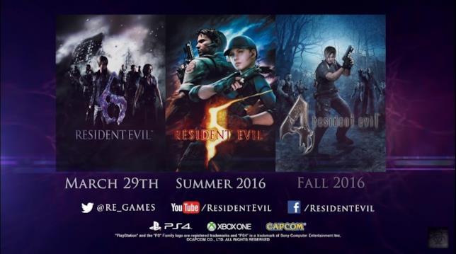 Resident Evil festeggia i 20 anni con tre remaster