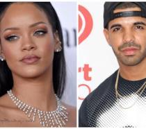 Rihanna e Drake flirtano sul palco