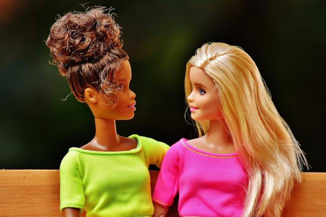 Due Barbie insieme