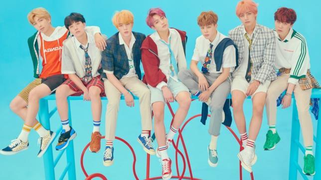 I sei membri della boy-band sudcoreana BTS