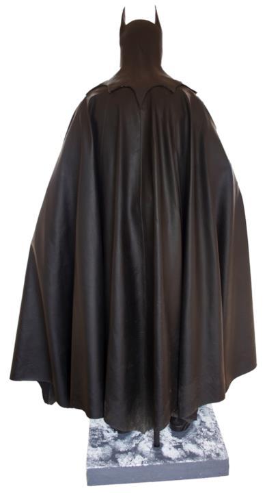 Mantello del costume di Batman indossato da Micheal Keaton nel 1992