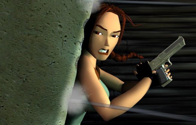 Lara Croft in Tomb Raider 3