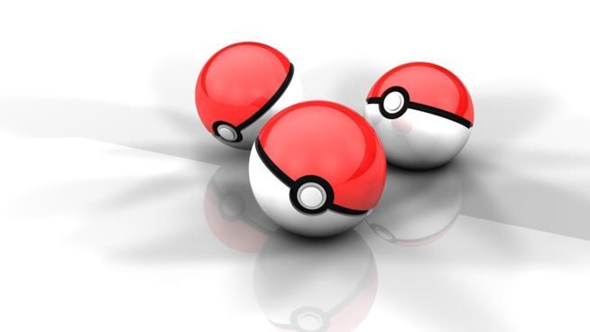 Le mitiche PokéBall per catturare i mostri tascabili di Nintendo