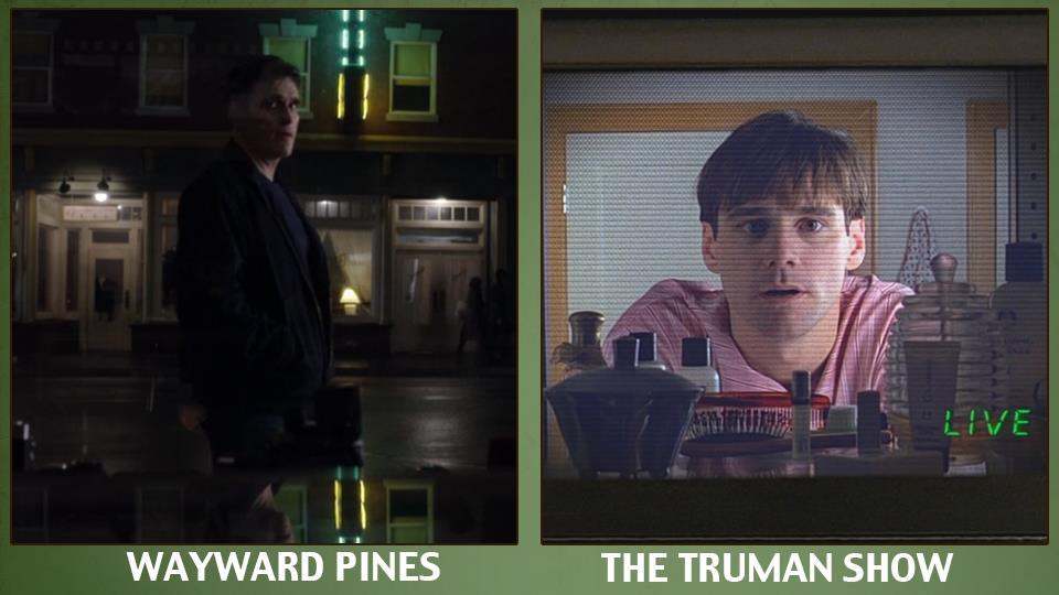 A Wayward Pines le telecamere seguono tutto… come in The Truman Show.