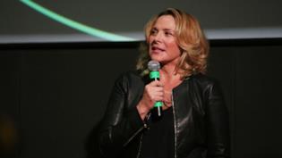 L'attrice Kim Cattrall