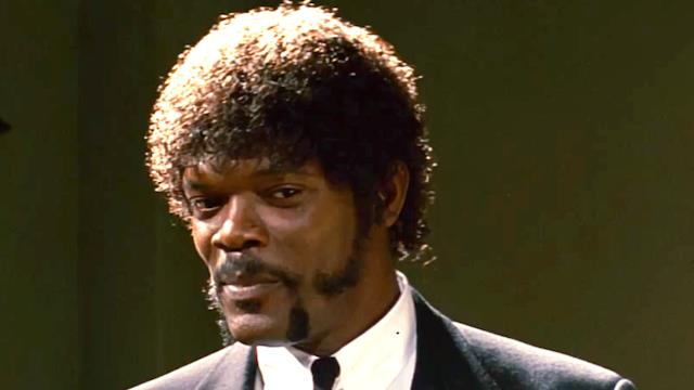 Samuel L. Jackson interpreta Jules Winnfield in Pulp Fiction