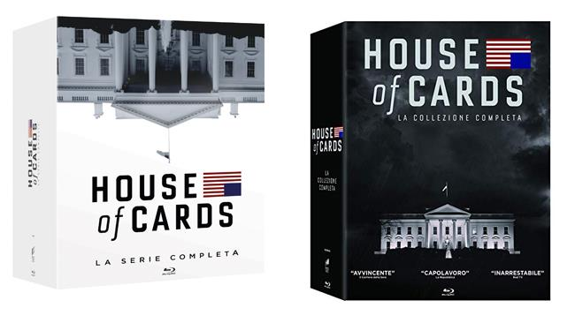 House of cards - cofanetto stagioni 1- 6